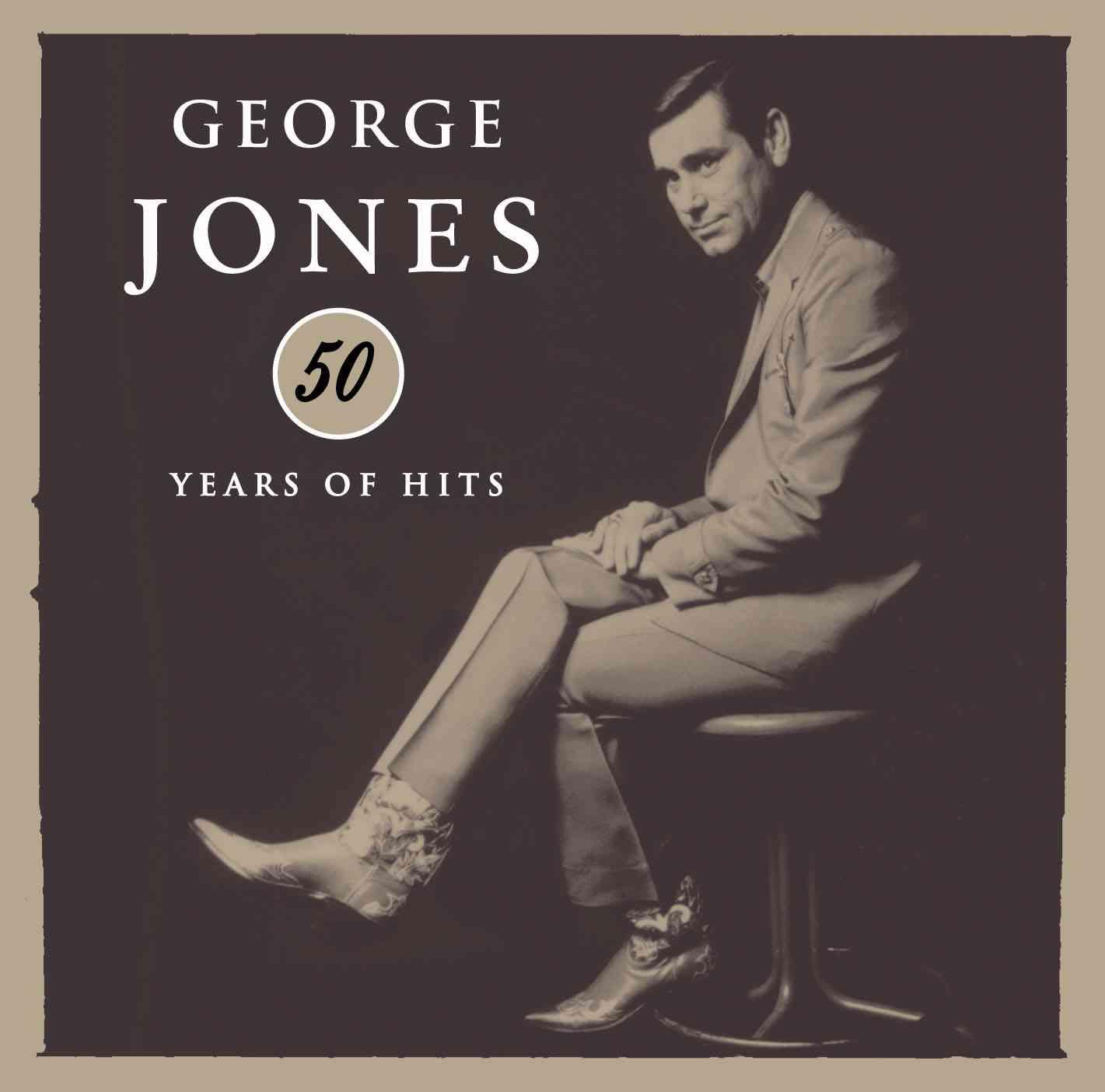 50 YEARS OF HITS BY JONES,GEORGE (CD)